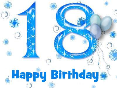 sretan ti 18 rođendan Sretan 18 rođendan – Čestitke Za Sve Prilike! sretan ti 18 rođendan